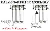 Easy-Snap Filter Assembly